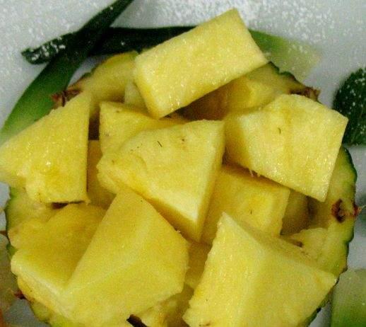 Dessert ananas 518