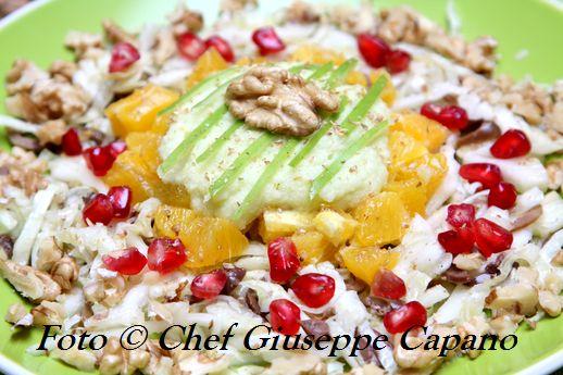 Un insalata salutare per celebrare noci e olio da olive 518