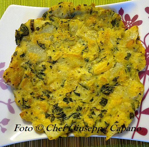 Finta frittata con catalogna e patate alla maggiorana 518