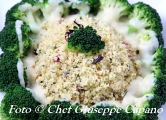Semola in couscous al profumo floreale con broccoletti sedano 518