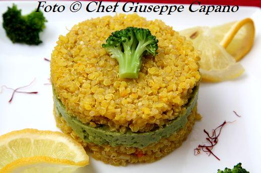 Tortino di quinoa gialla e broccoletti 518