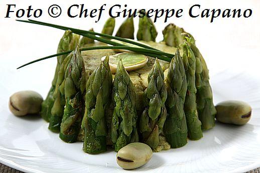 Sformatino verde con asparagi 518