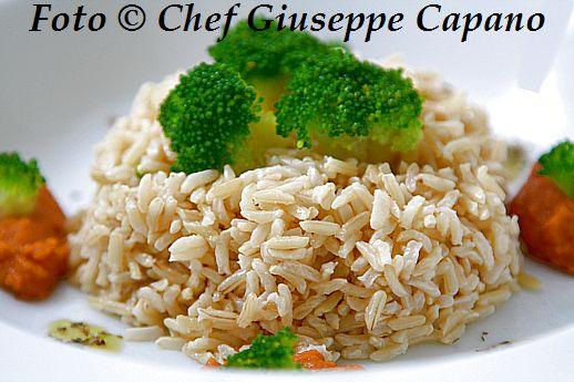 Basmati integrale speziato con lenticchie rosse e broccoletti 518