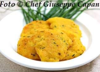 Frittelline di riso giallo con pastella di ceci e erba cipollina 518