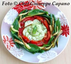 Ortaggi crudi e cotti in insalata 518