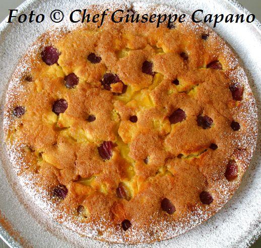 Torta di ananas con prugne viola 518