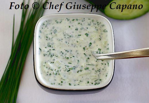 Salsa greca allo yogurt e erba cipollina 518