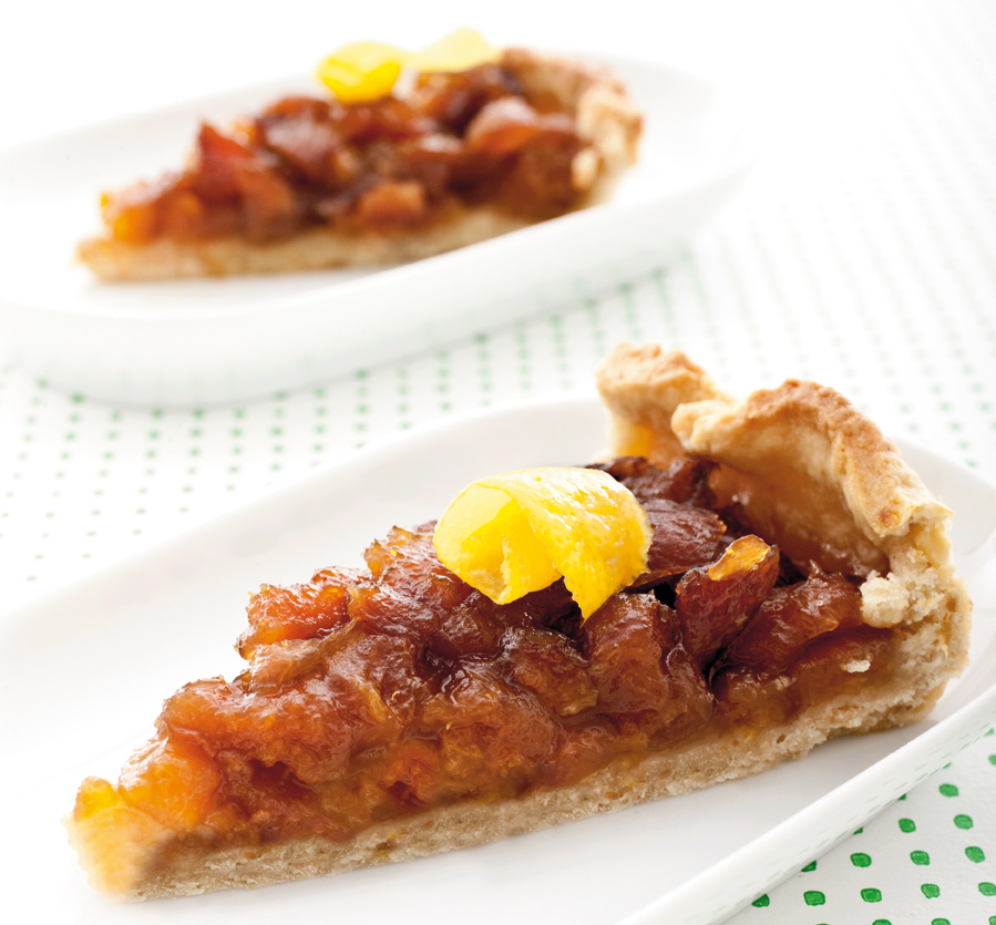 Risultati immagini per crostata di albicocche caramellate