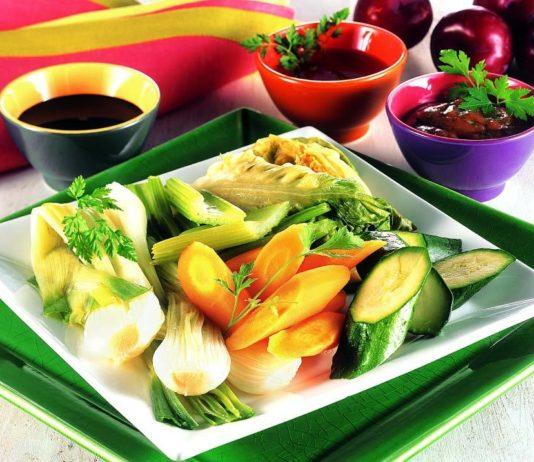 Verdure a vapore con salsa all 39 umeboshi cucina naturale - Cucina a vapore ricette ...