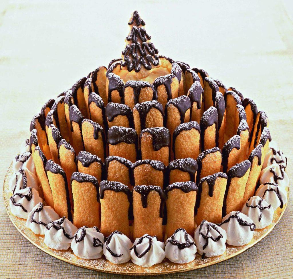 Torte Decorate Per Natale torta di natale dello chef