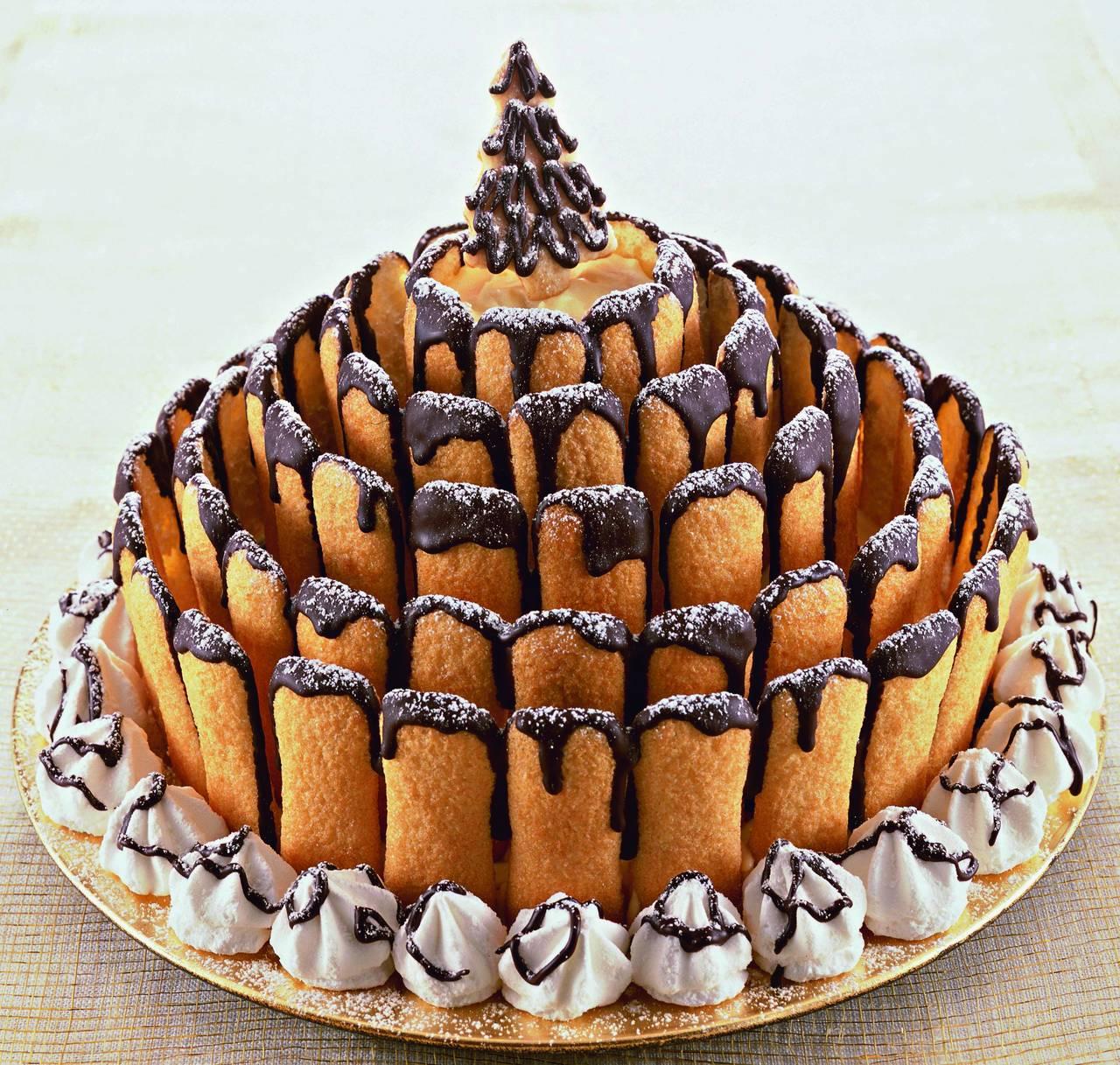 Torta di natale dello chef cucina naturale - Decorazioni torte natalizie ...