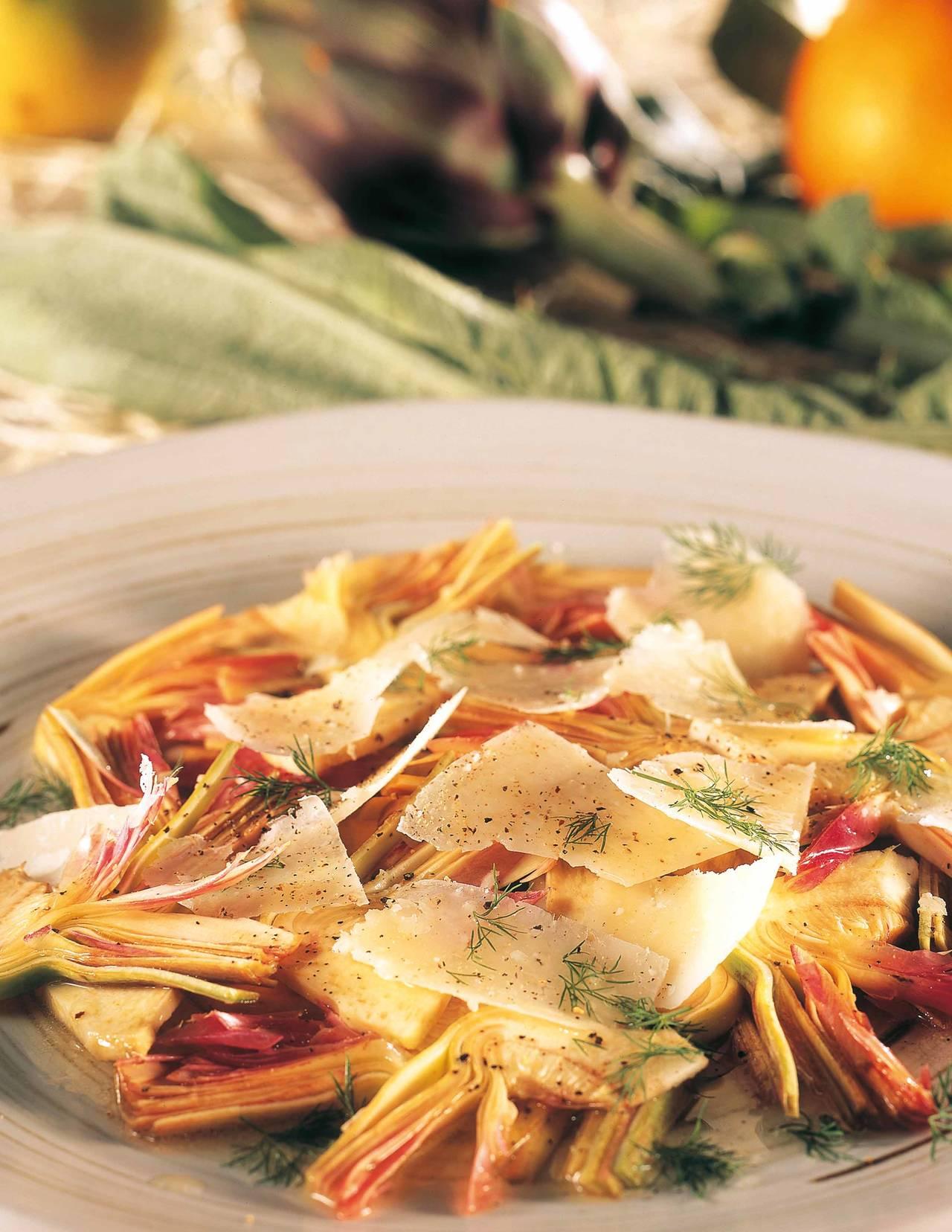Di Carciofi Con Pecorino Stagionato Agli Agrumi Ricetta Di Paolo #C28509 1280 1656 Programma Per Creare Ricette Di Cucina