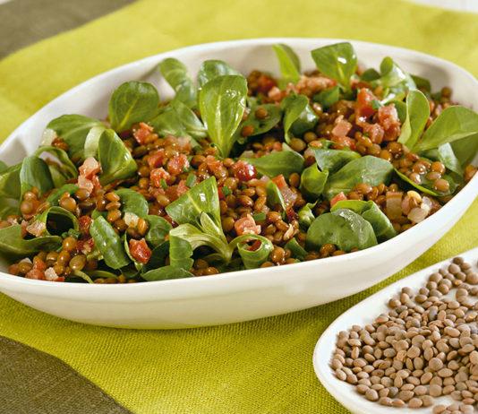 Insalata di soncino e lenticchie cucina naturale for Soncino insalata