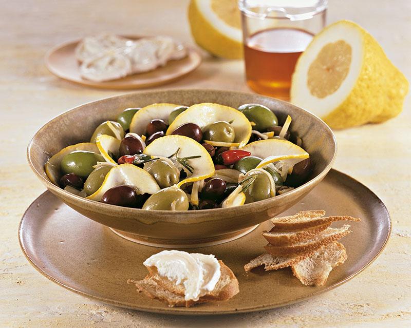 Insalata di olive e cedro - Cucina Naturale