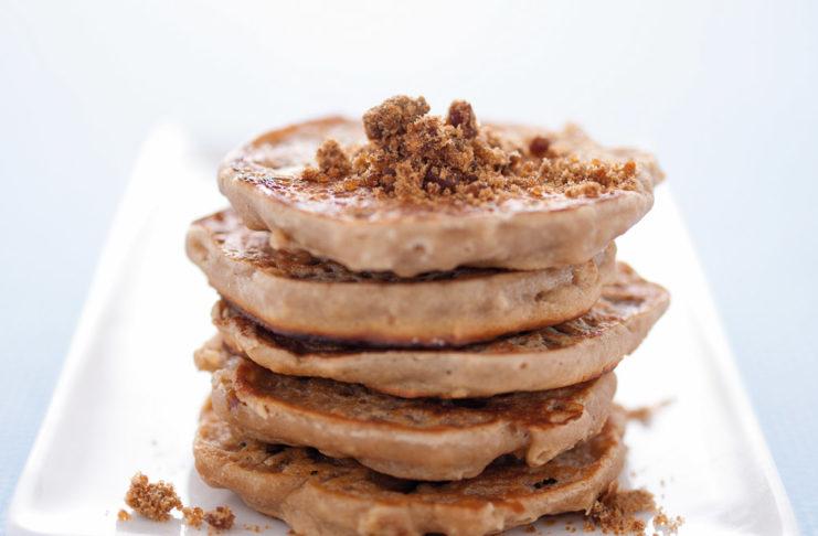 Ricetta Pancake Avena.Pancake Di Avena Allo Yogurt Cucina Naturale