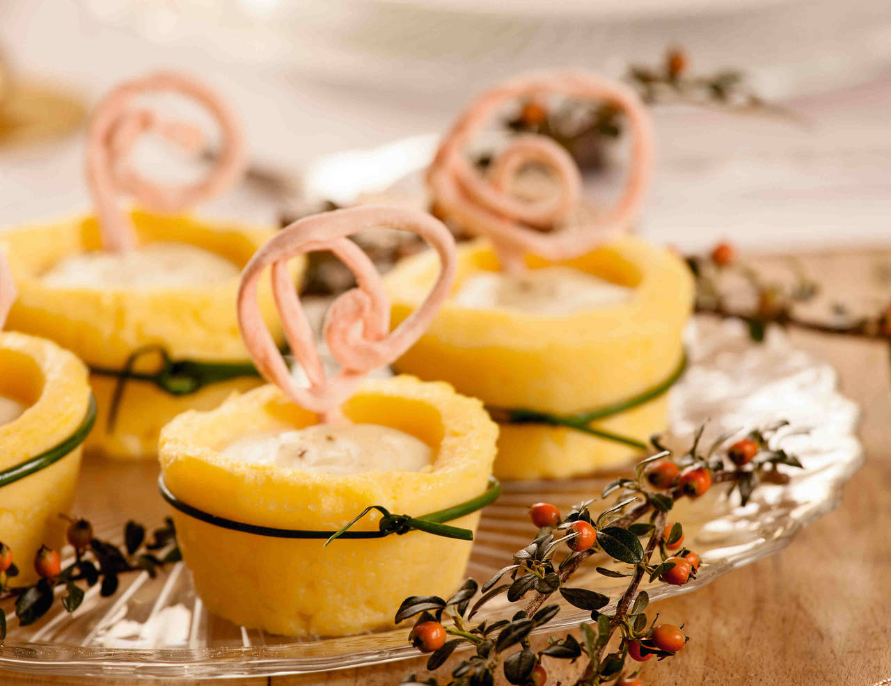 Cestini Di Polenta Con Fonduta Di Fontina Cucina Naturale #C54505 1280 986 Programma Per Creare Ricette Di Cucina