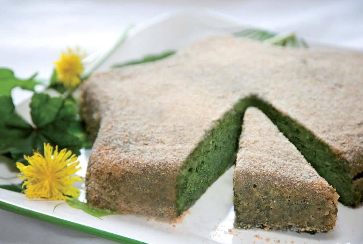 Tortino vegetariano al tarassaco cucina naturale for Cucinare vegetariano