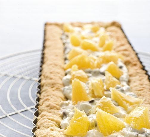 Crostata alla crema di ricotta al cedro e cioccolato - Cucina Naturale