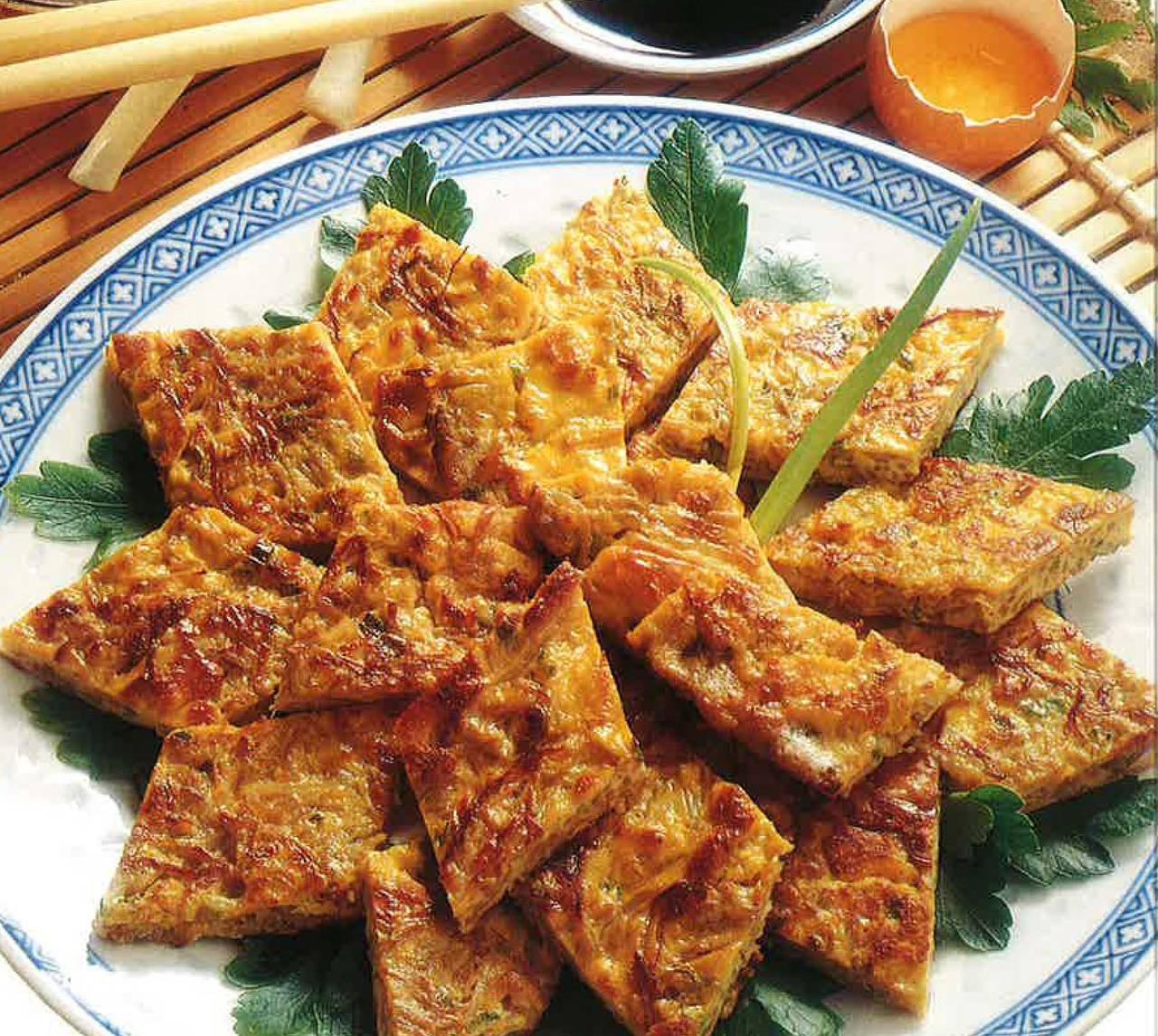 Frittata ai germogli di soia - Cucina Naturale