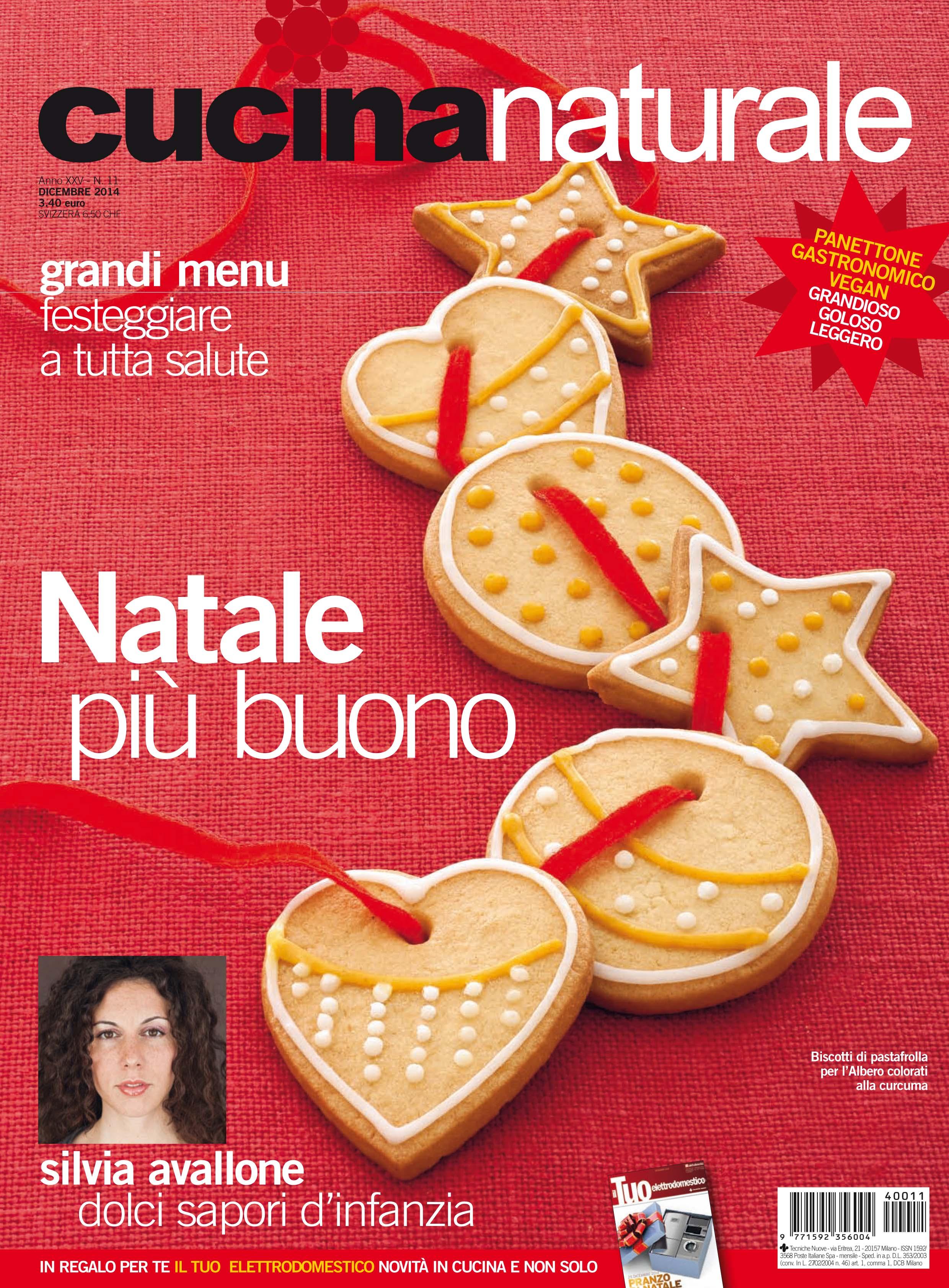 Cucina Naturale di dicembre: Un ricco Natale vegetariano - Cucina ...