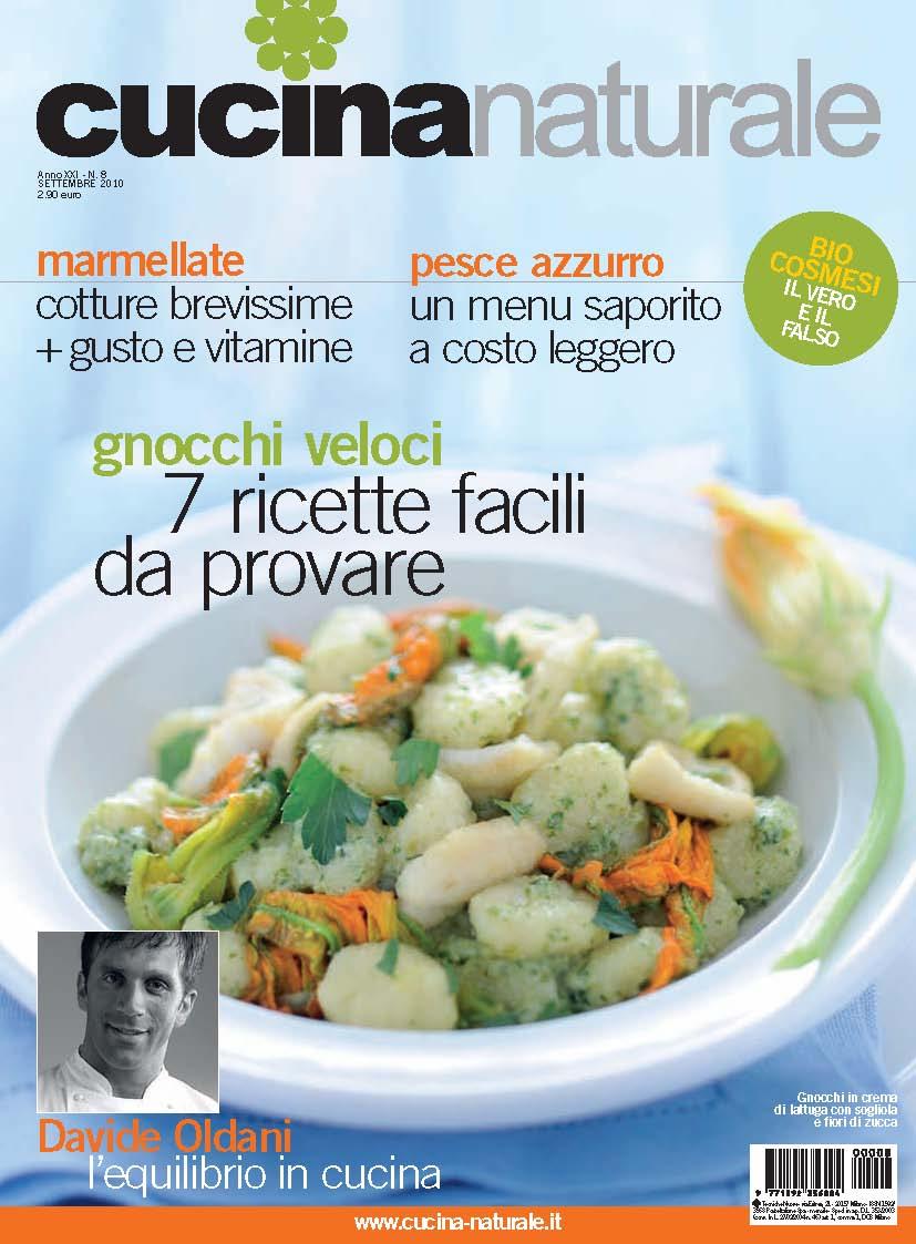 Cucina naturale di settembre il numero pi ricco dell for Riviste cucina
