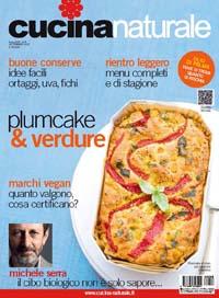 Cucina naturale di settembre 132 pagine di ricette for Riviste cucina