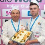 """Francesco e Salvatore Manuele della gelateria Nuova Dolceria di Siracusa con il gusto """"Mandorlivo"""""""