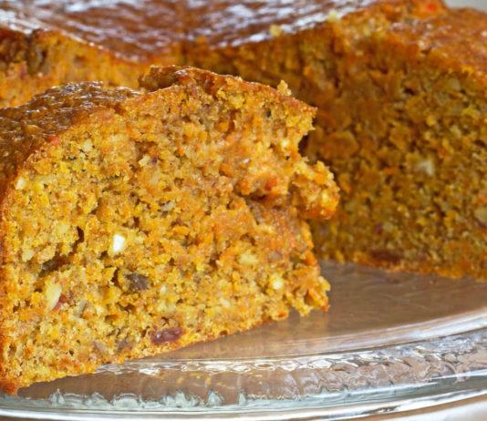 torta di carotevegan