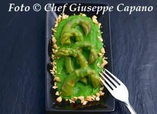 Verde su verde di broccoletti e asparagi 518