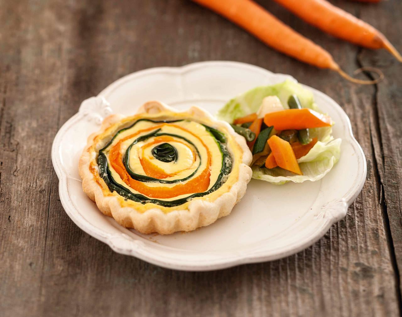 Tortine alle carote e ortaggi cucina naturale for Ortaggi estivi