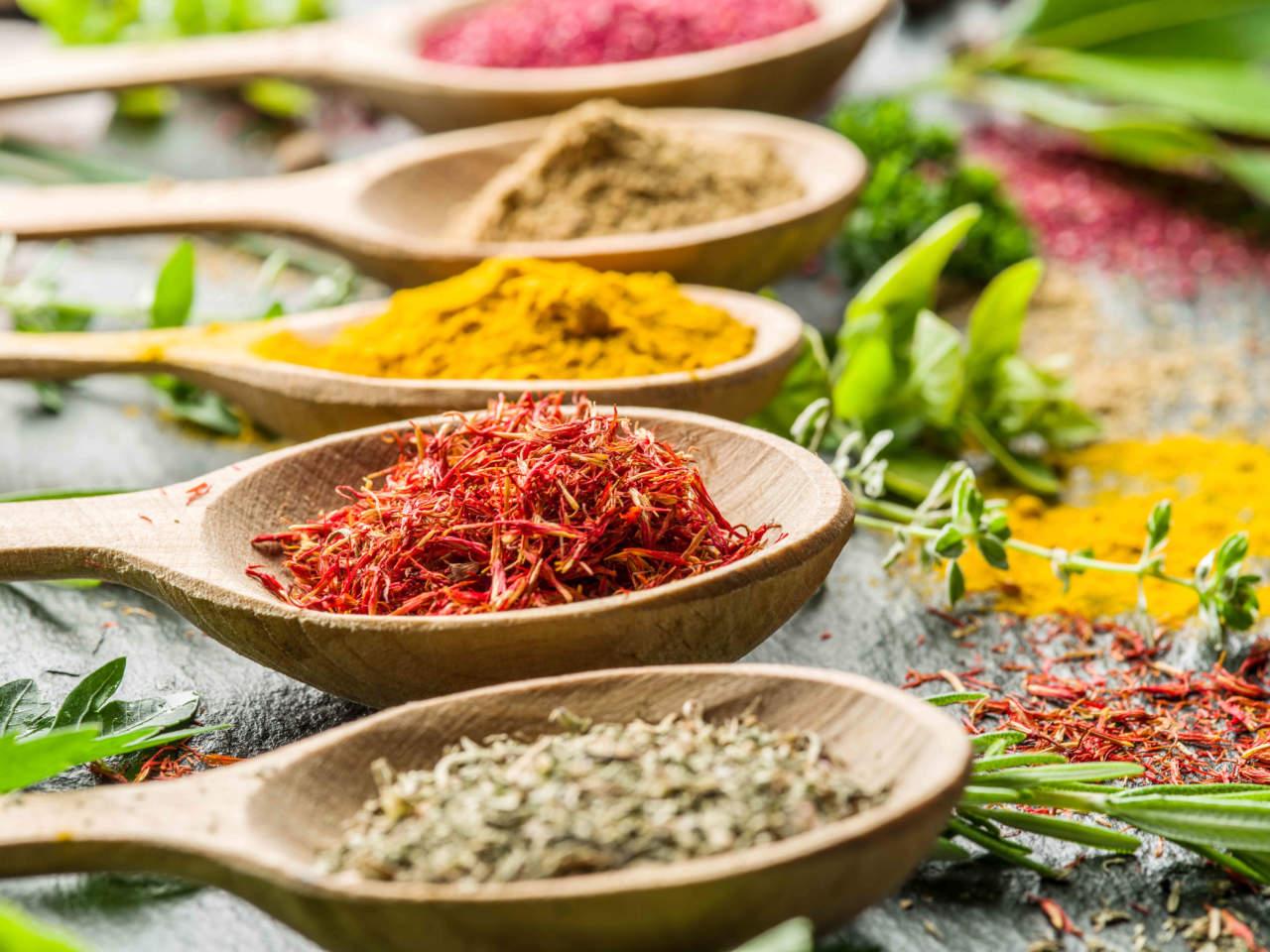 Pi snelli con le spezie cucina naturale - Le spezie in cucina ...