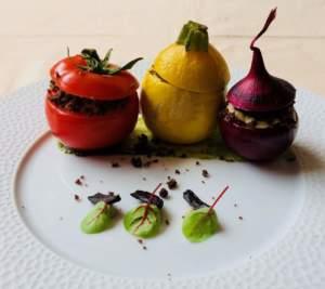 I ripieni. pomodoro, zucchina e cipolla farciti, ricetta di Willy Berton