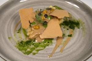 Pasta con fagioli, albicocche e basilico, ricetta di Antonio Cuomo