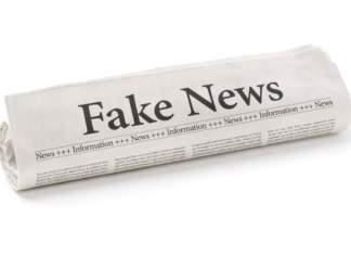 immagine di quotidiano dal titolo Fake News