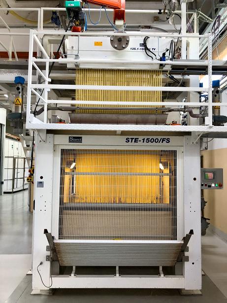 La produzione della pasta formato bucatini