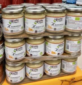 Il nuovo prodotto di Libera, l'hummus