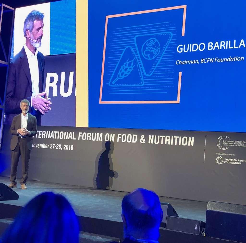 L'intervento di Guido Barilla al Forum on food & nutrition