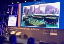 Un momento dei lavori al Forum on food and nutrition