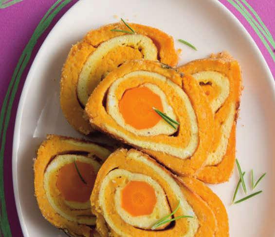 Ricetta Zucca E Uova.Rolle Colorato Alla Zucca Con Patate E Uova Cucina Naturale