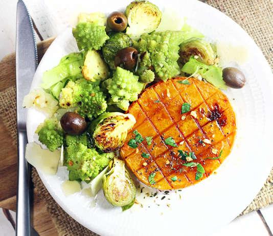 Bistecca vegan di zucca