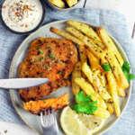 cotoletta vegetariana di carote