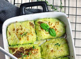 Fagottini morbidi di verza e patate