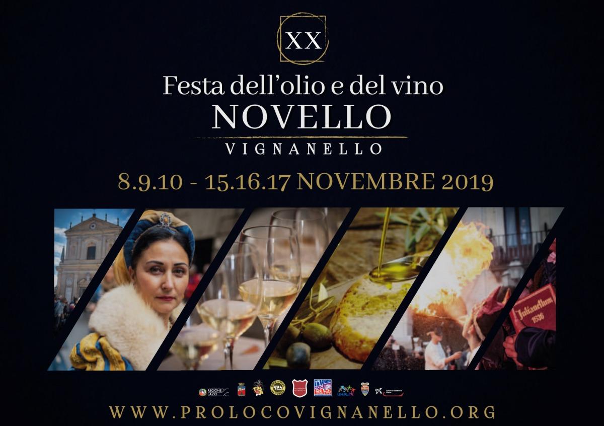 Festa dell'Olio e Vino Novello (VT)