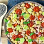 insalata proteica di ceci velocissima