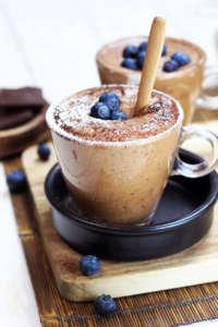 Mousse vegana al cioccolato