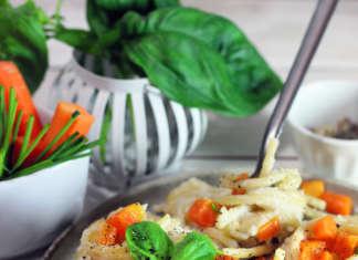 Spaghetti vegan alla salsa di cavolfiore