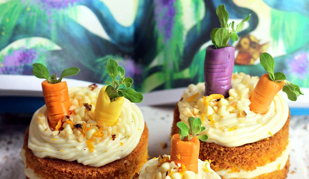 Minicakes di carote veloci