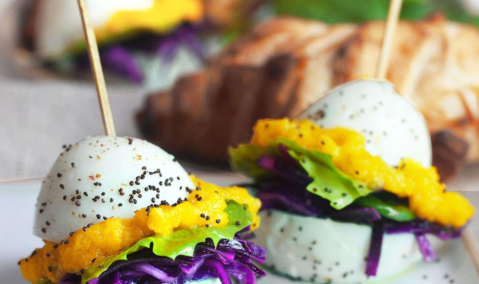 uova farcite con verdure