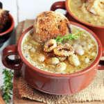 Zuppa di fagioli freschi