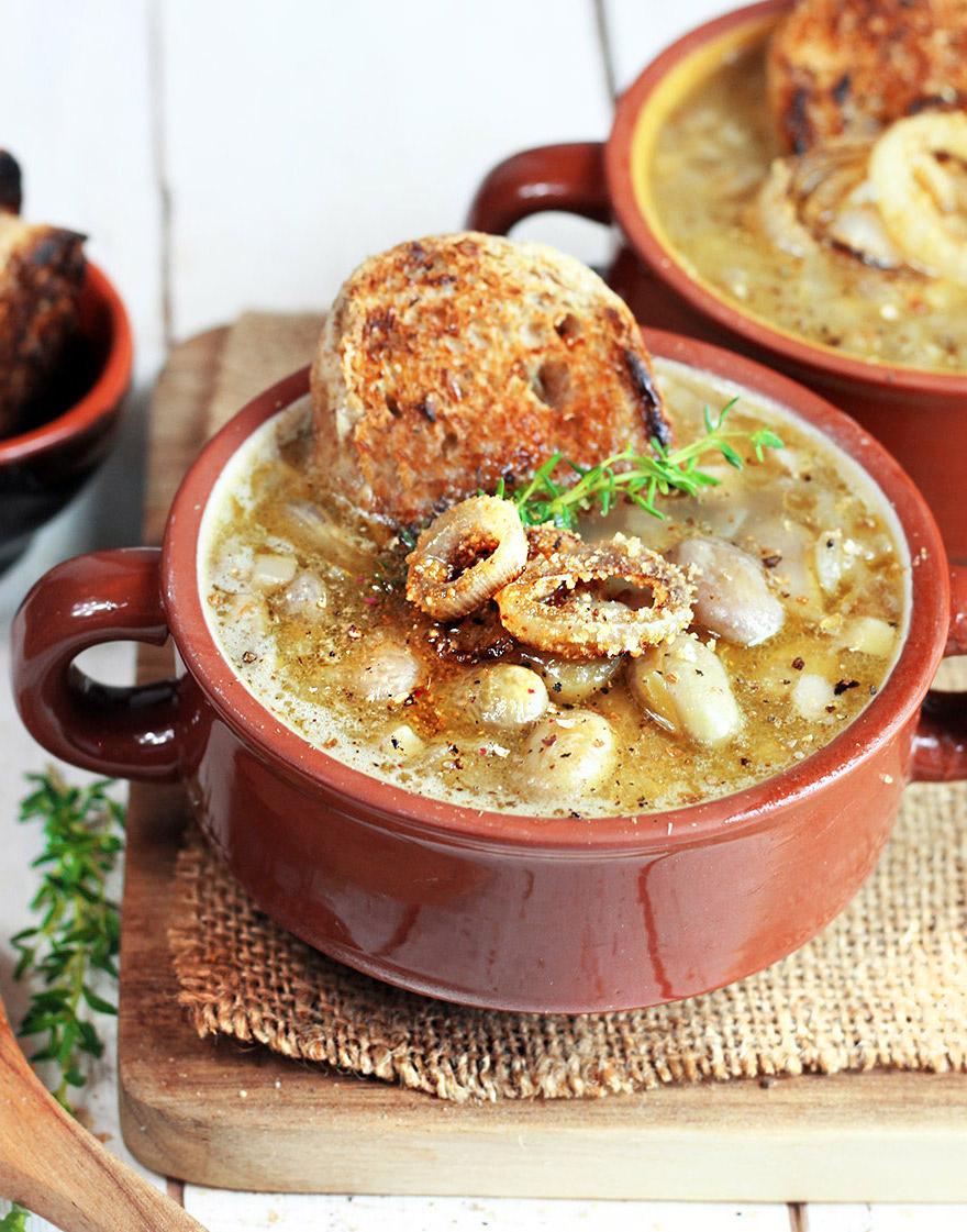 Zuppa veloce di fagioli freschi borlotti - Cucina Naturale